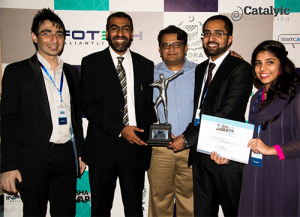 Team Catalyic received award on P@SHA ICT 2013